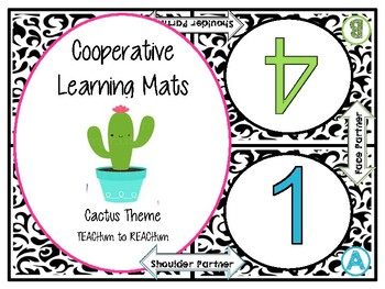 Cactus Cooperative Learning Mats