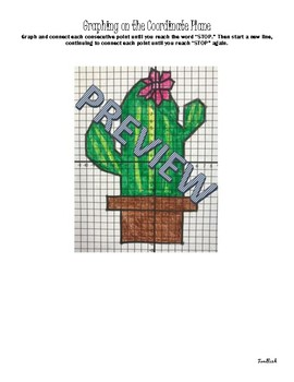 Cactus Coordinate Plane