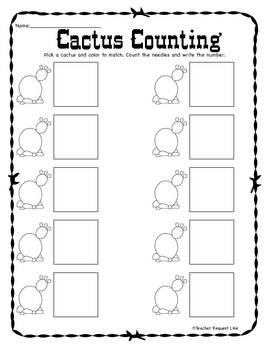 Cactus Counting