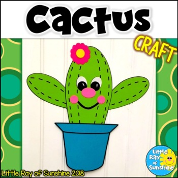 Cactus Craft for Back to School or Cinco de Mayo