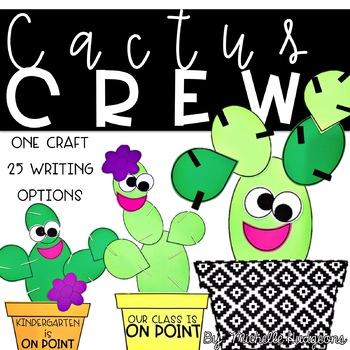 Cactus Crew (Writing Craftivity)