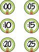 Cactus Cuties Clock Labels  **freebie**