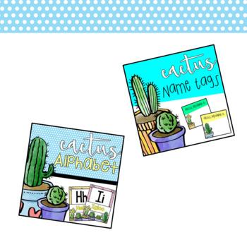 Cactus Decor Bundle