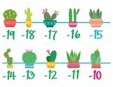 Cactus / Desert Number Line