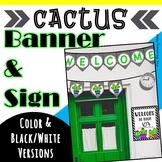 Cactus Door Decor