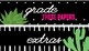 Cactus Drawer Labels