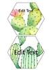 Cactus & Succulent EDITABLE Decor Banners