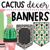 Cactus Editable Banners