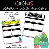 Cactus Editable Newsletter Templates