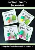 Cactus Eraser Student Gift Tag! #ausbts18
