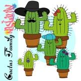 Cactus Clipart - Cactus Family Clipart