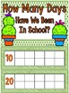 Cactus Friends | 180 Days of School Count Ten Frame Display