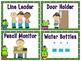 Cactus Friends Themed Classroom Jobs Display & Clip Chart