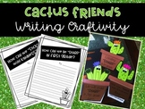 Cactus Friends Writing Craftivities