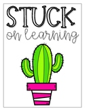 Cactus Growth Mindset Posters
