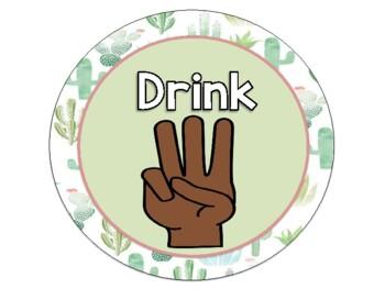 Cactus Hand Signal Chart