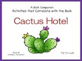 Cactus Hotel ~ 44 pgs. Common Core Activities