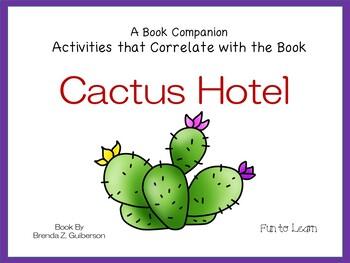 Cactus Hotel ~ 21 pgs. Common Core Activities