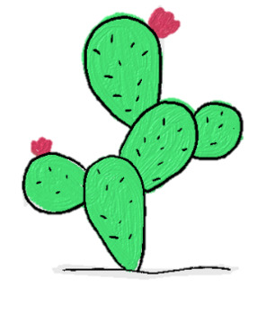 Cactus Images for Decorating Teacher-Made Resources