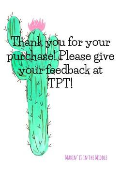 Cactus Inspirational Quotes