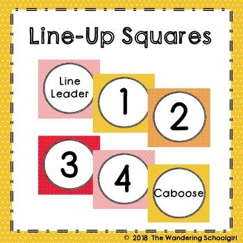 Line-Up Squares