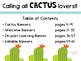Cactus Lover Classroom Banners