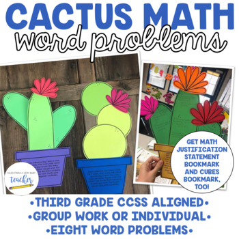 Cactus Math Activity