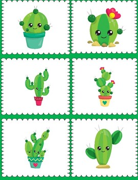 Cactus Meet the Teacher Night Documents-Design #2