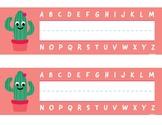 Cactus Name Plate Bundle