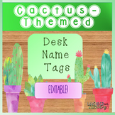 Cactus Name Tags