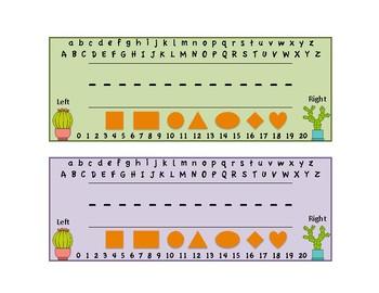 Cactus Name Tags /Name plate / Desk tag