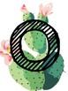 Cactus Noise Control Sign