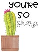 Cactus Notebook Covers - Editable FREEBIE