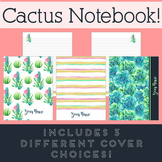 Cactus Notebook Paper - FREE FOR A LIMITED TIME ONLY!