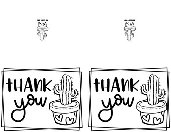 Cactus Notes {Stationery for Teachers}