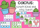 Cactus Number Bonds and Tens Frames