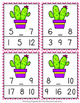 Cactus Numbers In Between Clip Cards