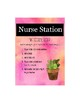 Cactus Nurse Station Poster