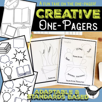 Cactus One Pager FREEBIE