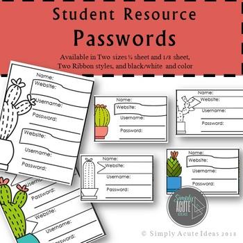 Cactus Password