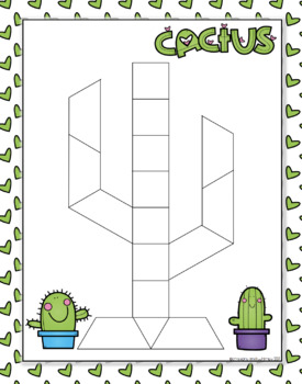 Cactus Pattern Block Freebie!
