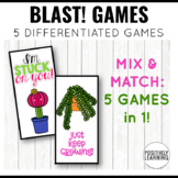Cactus Centers and Games