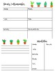 Cactus Planner Pack: Classroom and Personal FREEBIE