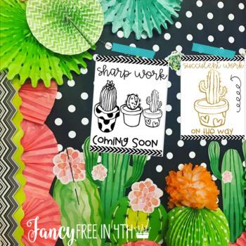 Cactus Poster Mini Set