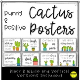 Cactus Posters | Positive Growth Mindset