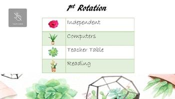 Cactus PowerPoint Slides (Editable)