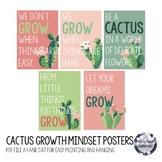 Pastel Cactus Quote Printables