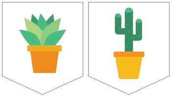 Cactus Reading Banner