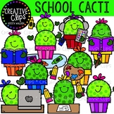 Cactus School Friends {Creative Clips Clipart}