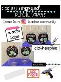 Cactus Sharp & Dull Circle Labels